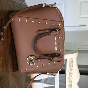 Michael Kors crossbody studded purse!